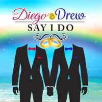 Diego and Drew Say I Do