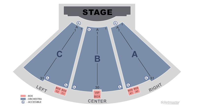 The Pompano Beach Amphitheater Seating Chart Theatre In Miami